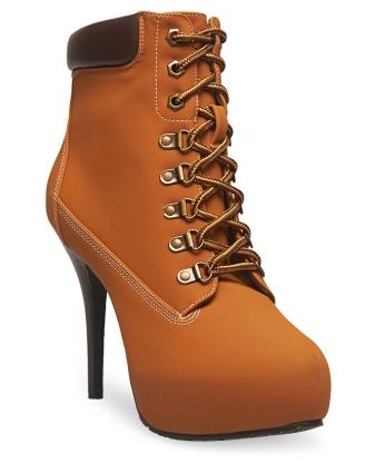 hiking heels