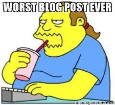 worst blog post
