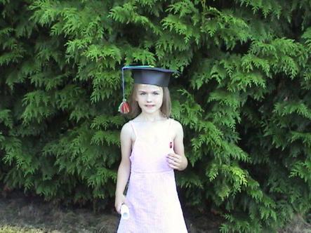 Jaime's preschool grad
